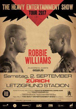 Robbie Williams | Anreise Zum Stadion Letzigrund