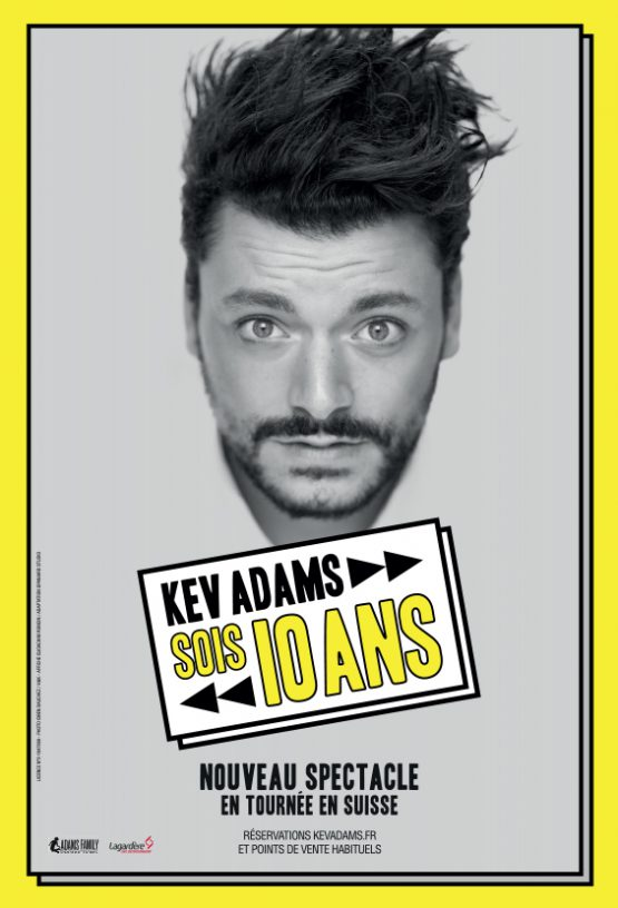 Kev Adams - tournée 2019