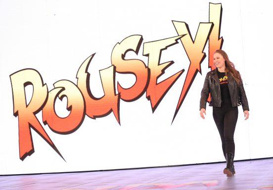 La superstar de catch RONDA ROUSEY s'ajoute au line up du show WWE LIVE à Genève !